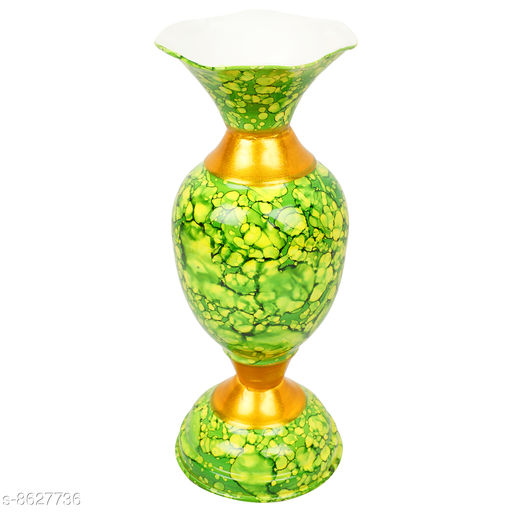 Vases BS AMOR Home Decor Vase With Flower |Living Room| Decorative Showpiece Metal Multicolor vase's  *Material* Metal  *Pack* Pack of 1  *Sizes Available* Free Size *    Catalog Name: Free Mask Stylo Vases CatalogID_1465494 C127-SC1618 Code: 713-8627736-095