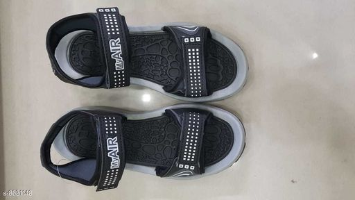 Sandals STYLISH MEN'S FLOATERS  *Material* Synthetic  *Sole Material* EVA  *Sizes*  IND-8  *Sizes Available* IND-8, IND-9 *    Catalog Name: Relaxed Trendy Men Sandals CatalogID_1466362 C67-SC1238 Code: 264-8631148-