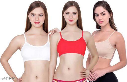 Women Non Padded Short Bralette Bra