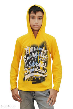 Stylish Cotton Knitted Boy's T-Shirt