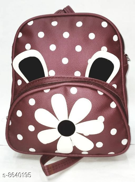 Backpacks Attractive Bagpacks  *Material* Leather  *No. of Compartments* 3  *Sizes*  Free Size  *Sizes Available* Free Size *    Catalog Name: Classic Attractive Women Backpacks CatalogID_1468588 C73-SC1074 Code: 433-8640195-