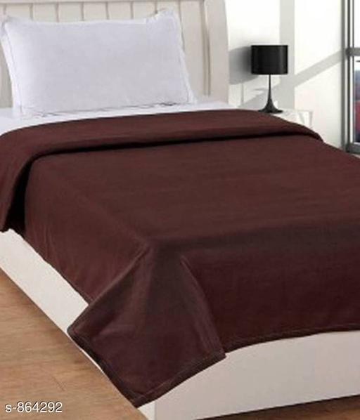 Comfortable Fleece Single Blanket