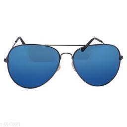DXB Blue Aviator Metal Body Sunglass