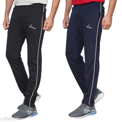 True Man Man's cotton track pants (Pack of 2)