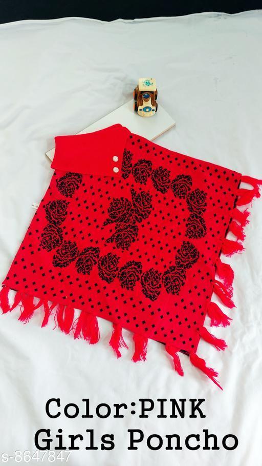 Jackets & Coats DivaStudio's Girls Ponchos  *Fabric* Wool  *Multipack* 1  *Sizes*  2-3 Years  *Sizes Available* 2-3 Years *    Catalog Name: Cute Fancy Girls Jackets & Coats CatalogID_1470267 C62-SC1153 Code: 554-8647847-
