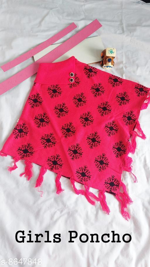 Jackets & Coats DivaStudio's Girls Ponchos  *Fabric* Wool  *Multipack* 1  *Sizes*  2-3 Years  *Sizes Available* 2-3 Years, 3-4 Years, 4-5 Years *    Catalog Name: Cute Fancy Girls Jackets & Coats CatalogID_1470267 C62-SC1153 Code: 554-8647848-