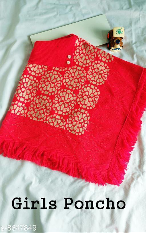 Jackets & Coats DivaStudio's Girls Ponchos  *Fabric* Wool  *Multipack* 1  *Sizes*  2-3 Years  *Sizes Available* 2-3 Years, 3-4 Years, 4-5 Years *    Catalog Name: Cute Fancy Girls Jackets & Coats CatalogID_1470267 C62-SC1153 Code: 554-8647849-