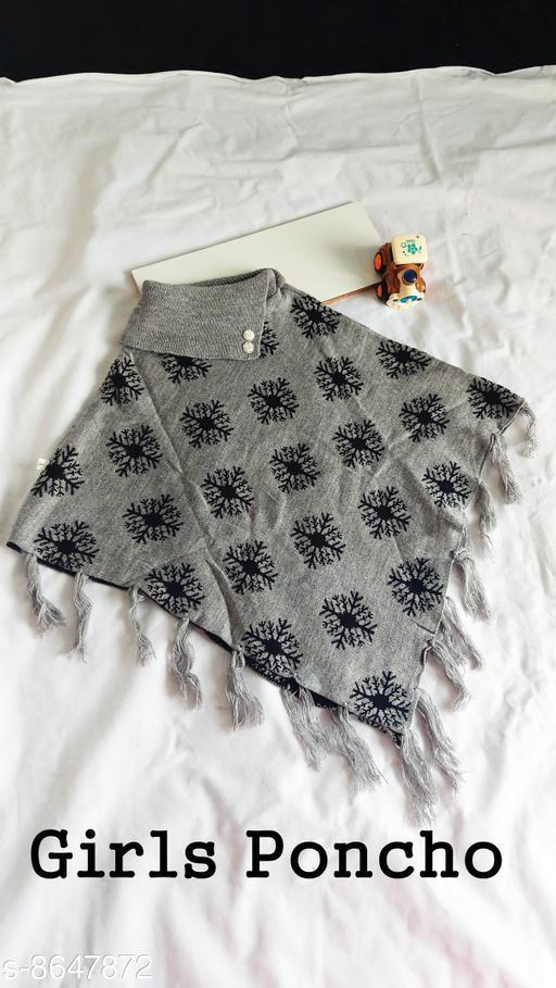 Jackets & Coats DivaStudio's Girls Ponchos  *Fabric* Wool  *Multipack* 1  *Sizes*  2-3 Years  *Sizes Available* 2-3 Years, 4-5 Years *    Catalog Name: Tinkle Stylish Girls Jackets & Coats CatalogID_1470274 C62-SC1153 Code: 554-8647872-
