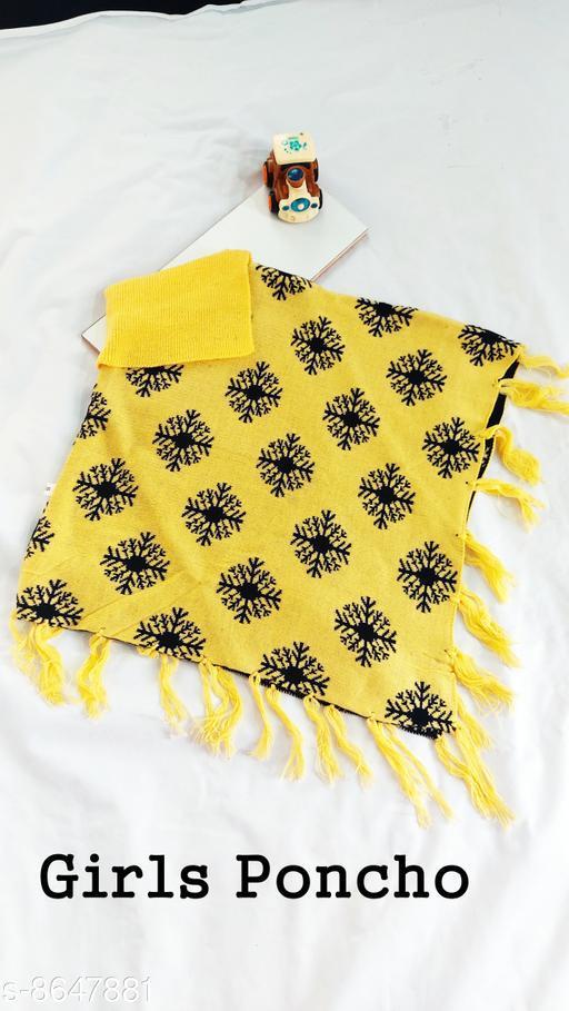 Jackets & Coats DivaStudio's Girls Ponchos  *Fabric* Wool  *Multipack* 1  *Sizes*  2-3 Years  *Sizes Available* 2-3 Years *    Catalog Name: Tinkle Stylish Girls Jackets & Coats CatalogID_1470274 C62-SC1153 Code: 554-8647881-