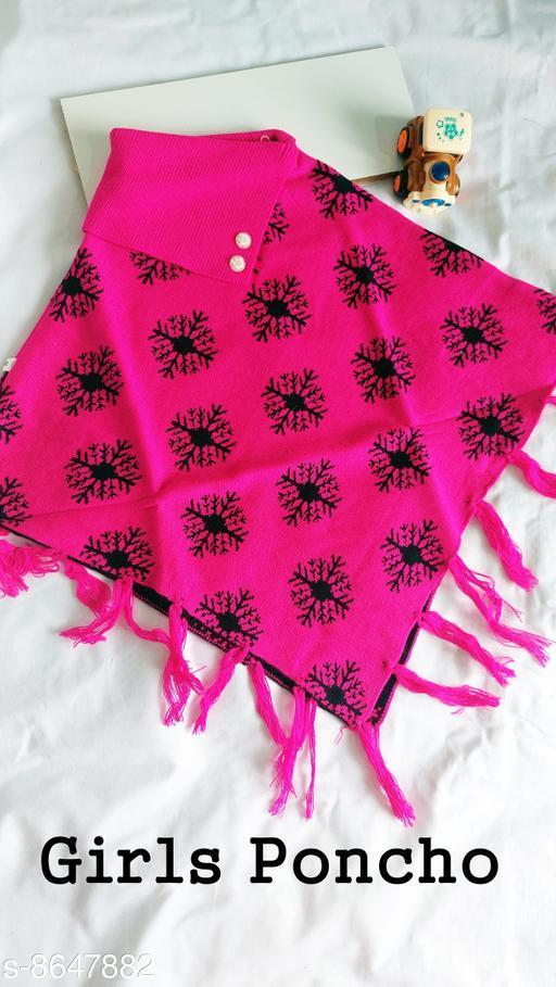 Jackets & Coats DivaStudio's Girls Ponchos  *Fabric* Wool  *Multipack* 1  *Sizes*  2-3 Years  *Sizes Available* 2-3 Years, 3-4 Years, 4-5 Years *    Catalog Name: Tinkle Stylish Girls Jackets & Coats CatalogID_1470274 C62-SC1153 Code: 554-8647882-