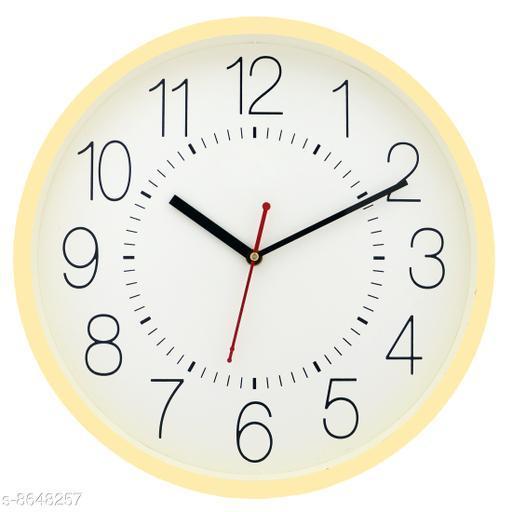 Masstone Ocean Series Gold Round Wall Clock