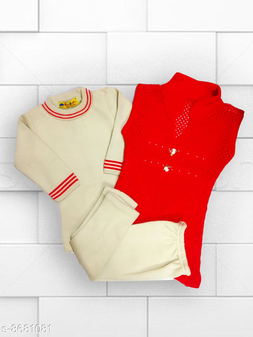 Sweaters KIDS 3 PIECEWOOLLEN SET  *Fabric* Wool  *Multipack* 1  *Sizes*  2-3 Years  *Sizes Available* 2-3 Years *    Catalog Name: Pretty Trendy Girls Sweaters CatalogID_1477894 C62-SC1149 Code: 875-8681081-997