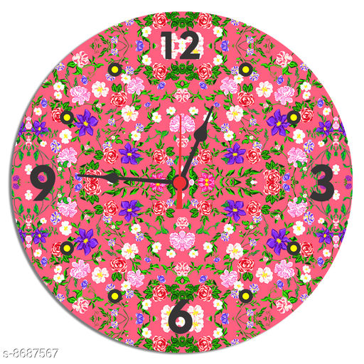 Clocks Dashing Clocks  *Material* Wooden  *Pack* Pack of 1  *Sizes Available* Free Size *    Catalog Name: Designer Wall Clocks CatalogID_1479428 C127-SC1440 Code: 016-8687567-