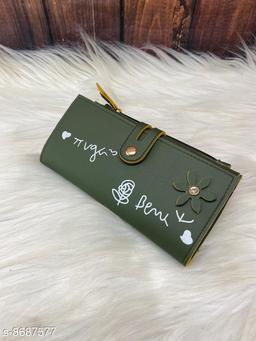 Voguish PU Moto Silk Leather Women's Wallet