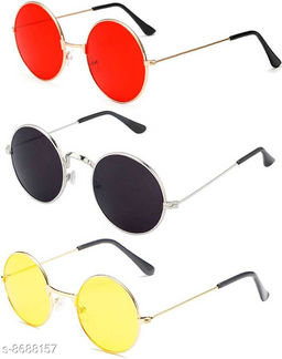 Stylish Men's Pack of 3 Sunglasses