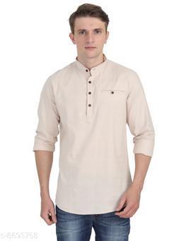 Men Casual Cotton Kurta Full Sleeve