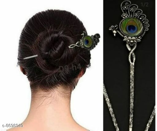 Hair Accessories trandy stylish hair pin  *Base Metal* Lac  *Multipack* 1  *Sizes Available* Free Size *    Catalog Name: Designer Women Jewellery Accessories CatalogID_1481916 C50-SC1815 Code: 632-8698349-992