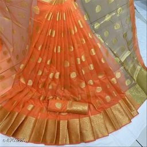 kota doriya cotton zari woven saree