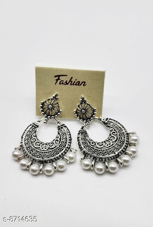 Earrings & Studs Treandy Earrings & Studs  *Base Metal* Alloy  *Sizing* Non-Adjustable  *Multipack* 1  *Sizes Available* Free Size *    Catalog Name: Allure Graceful Earrings CatalogID_1485624 C77-SC1091 Code: 422-8714635-