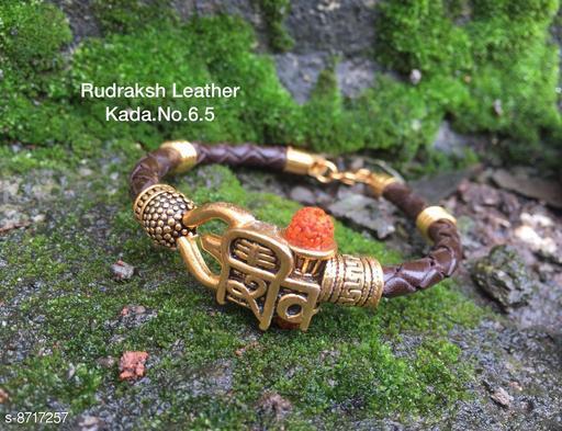 New Rudrax Leather Bracelet