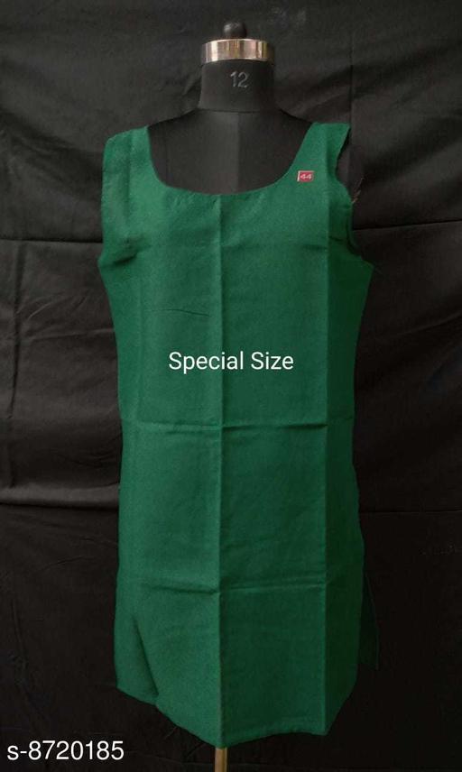 Women Thongs/G-String Green Cotton Panty