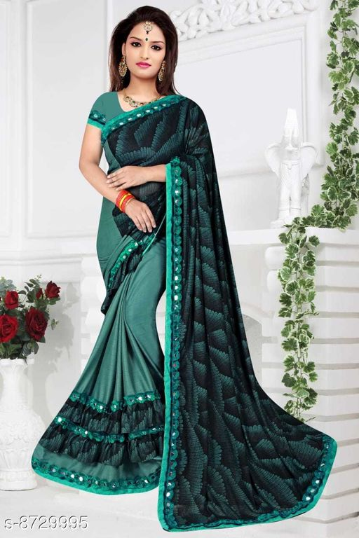 Sarees  Refined malai Silk Sarees  *Saree Fabric* malai silk Silk  *Blouse Type* Running Blouse  *Blouse* net with embrodery work Blouse  *Blouse Fabric* malai Silk  *Pattern* Jacquard lining  *Blouse Pattern* banglori silk  *Multipack* Single  *Sizes*   *Free Size (Saree With Blouse Length Size* 6.3 m, )  *Sizes Available* Free Size *    Catalog Name: Refined malai Silk Sarees CatalogID_1489080 C74-SC1004 Code: 574-8729995-