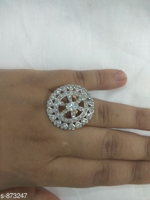 Trendy Metal Adjustable Ring