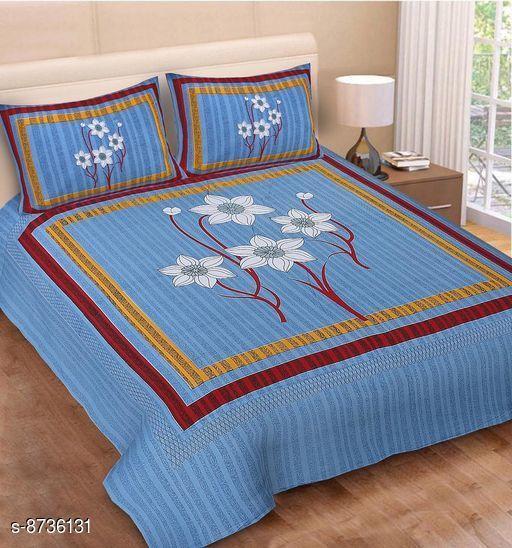 Trendy Cotton 90 X 100 Single Bedsheet