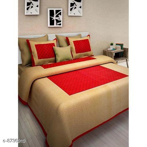 Trendy Cotton 100 X 90 Doble Bedsheet