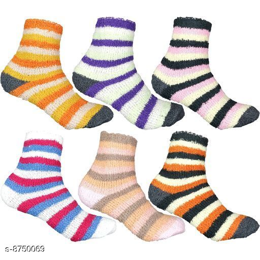 Socks Socks  *Fabric* Wool  *Multipack* 6  *Sizes* Free Size  *Sizes Available* Free Size *    Catalog Name: Fashionable Latest Men Socks CatalogID_1493945 C65-SC1240 Code: 882-8750069-