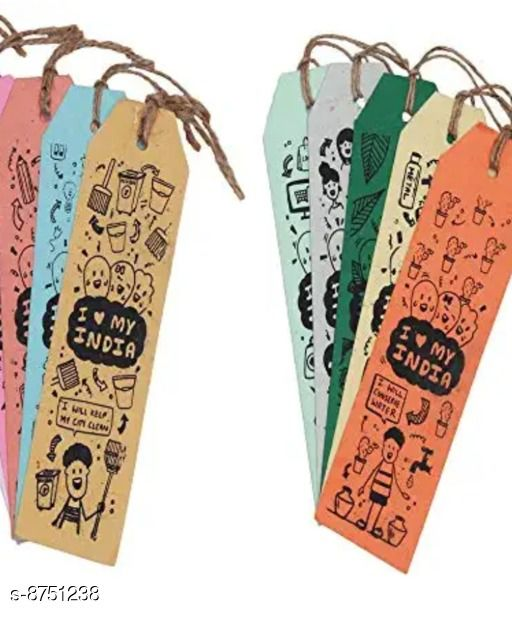 Stationaries Fancy  Stationaries Fancy  Stationaries  *Type * Book Marks  *Material * Paper  *Multipack * 5  *Size *   *Length Size * 6.8 cm  *Width Size * 3.I cm  *Sizes Available* Free Size *    Catalog Name: Fancy  Stationaries CatalogID_1494226 C63-SC1321 Code: 071-8751238-