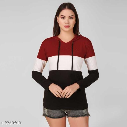 Women Maroon Sweart Shirt