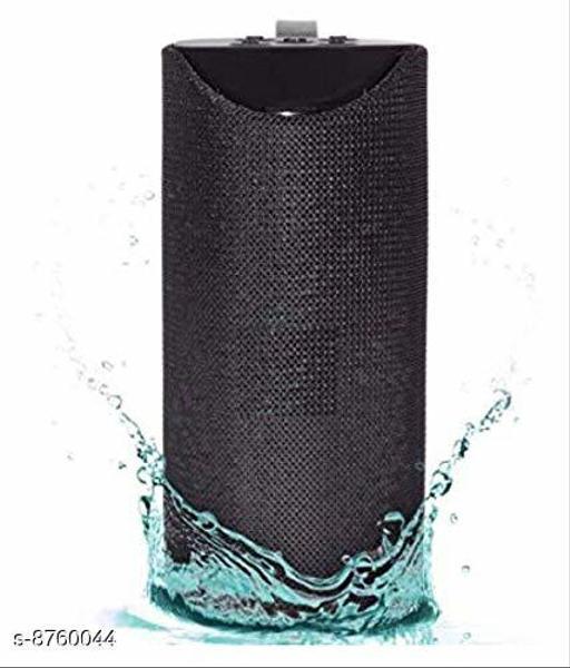 Bazz TG113 Super Bass Splashproof Wireless 5 W Bluetooth Speaker Home Theatre(Black, 10.2 Channel)