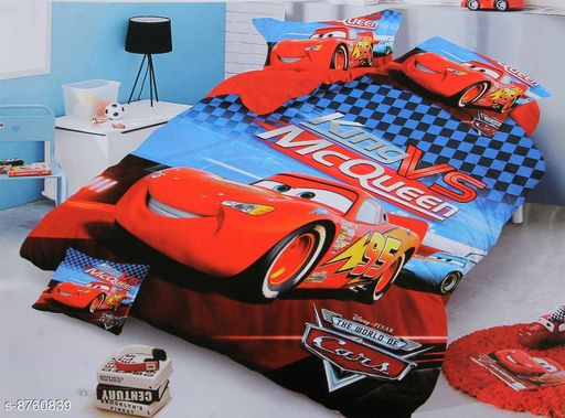 Bedsheets LATEST KIDS bedsheet  *Fabric* Glace Cotton  *Print or Pattern Type* Cartoon  *Multipack* 1  *Sizes*  Queen  *Sizes Available* Queen *    Catalog Name: Free Mask Latest Classic Kids Unisex Bedsheets CatalogID_1496461 C63-SC1322 Code: 667-8760839-