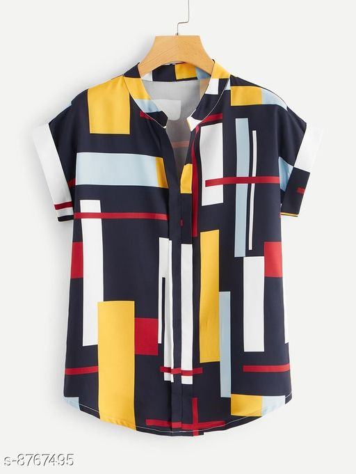 The Kicky Women's Crepe Casual Gep Print Top
