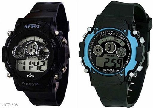 RTK New Combo1 Seven Light Digital Watch For Boys,Men