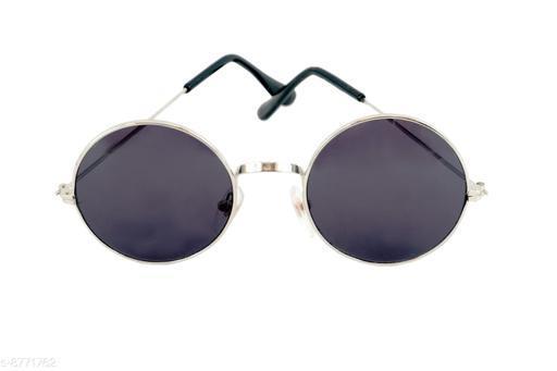 1UP Unisex Blue Round Sunglasses