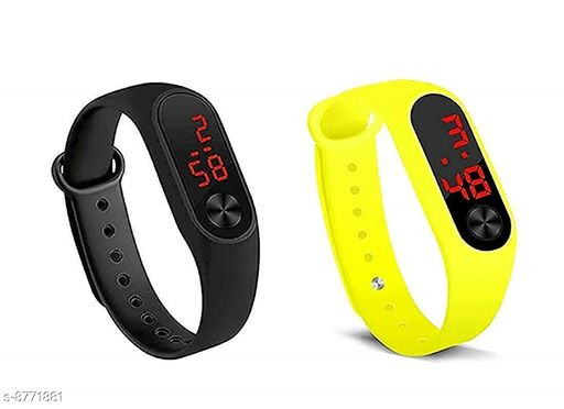 RTK New Multicolor Strap106 Digital Watch For Girls,Women