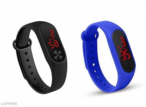RTK New Multicolor Strap105 Digital Watch For Girls,Women