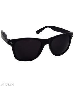 1UP Black Wayfarer Plastic Body Sunglass