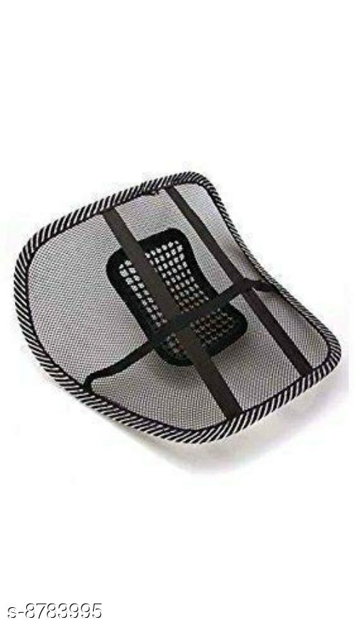 Rainbow Ventilation Back Rest with Lumbar Support pack of 2