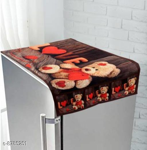 Fridge Covers Fridge cover  *Material* Polyester  *Pack* Pack of 1  *Sizes Available* Free Size *    Catalog Name: Classy Fridge Covers CatalogID_1502097 C131-SC1623 Code: 672-8785251-