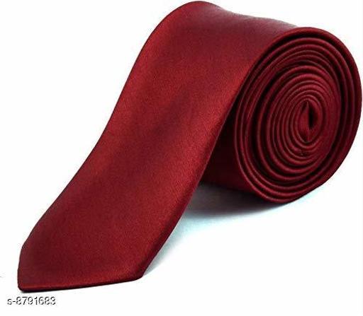 Osking Marron Solid Tie
