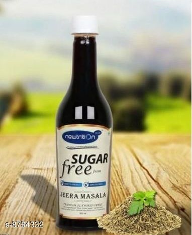 Health Drinks JEERA SYRUP JEERA SYRUP  *Sizes Available* Free Size *    Catalog Name: Check out this trending catalog CatalogID_1504213 C89-SC1778 Code: 042-8794332-