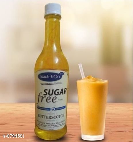 Health Drinks BUTTERSCOTCH SYRUP BUTTERSCOTCH SYRUP  *Sizes Available* Free Size *    Catalog Name: Check out this trending catalog CatalogID_1504270 C89-SC1778 Code: 042-8794581-