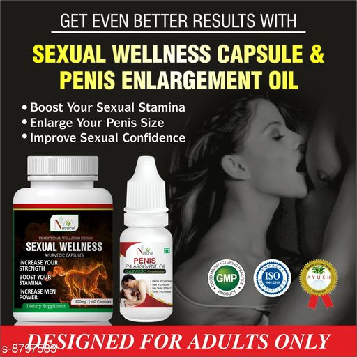 Sexual Wellness Sexual Wellness Ayurvedic Product  *Product Name* Sexual Wellness  *Brand* Sexual Wellness  *Type* Sexual Wellness  *Capacity* 60 capsule  *Multipack* pack of 1  *Sizes Available* Free Size *    Catalog Name: Sexual Wellness Ayurvedic  Product CatalogID_1504915 C126-SC1286 Code: 808-8797583-