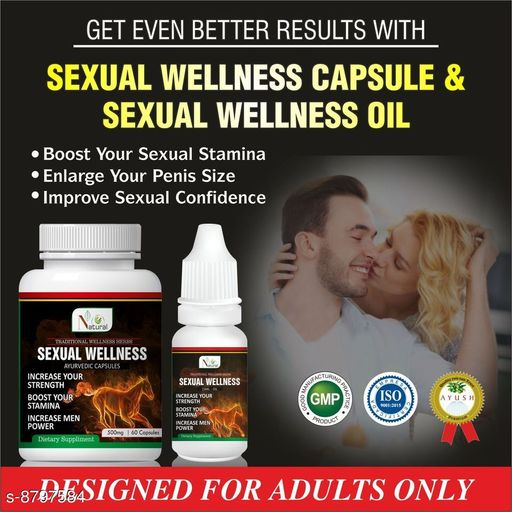 Sexual Wellness Sexual Wellness Ayurvedic Product  *Product Name* Sexual Wellness  *Brand* Sexual Wellness  *Type* Sexual Wellness  *Capacity* 60 capsule  *Multipack* pack of 1  *Sizes Available* Free Size *    Catalog Name: Sexual Wellness Ayurvedic  Product CatalogID_1504915 C126-SC1286 Code: 808-8797584-