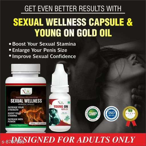 Sexual Wellness Sexual Wellness Ayurvedic Product  *Product Name* Sexual Wellness  *Brand* Sexual Wellness  *Type* Sexual Wellness  *Capacity* 60 capsule  *Multipack* pack of 1  *Sizes Available* Free Size *    Catalog Name: Sexual Wellness Ayurvedic  Product CatalogID_1504915 C126-SC1286 Code: 808-8797585-