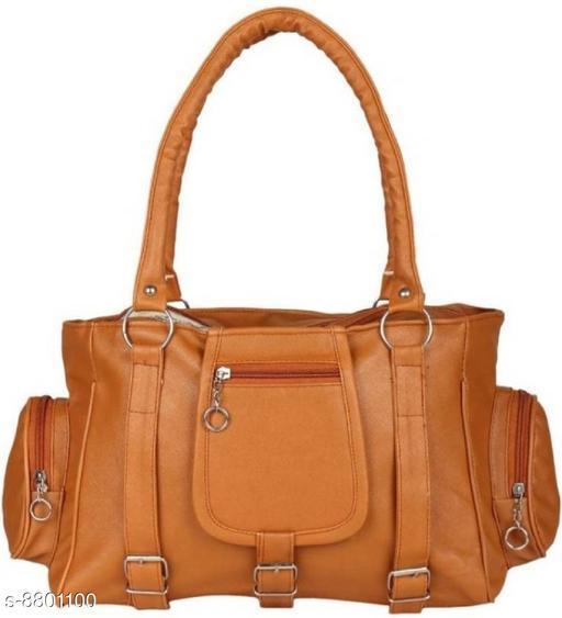 WOMEN SHOULDER STYLISH BAG TAN