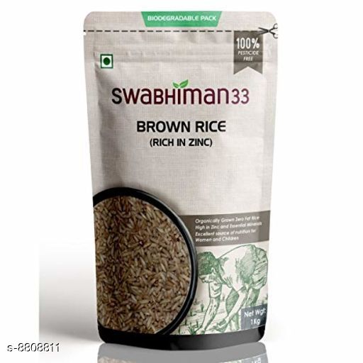 Organic Staples Brown Rice  *Product Name * Brown Rice  *Type* Rice  *Capacity* 1 kg  *Multipack* 1  *Sizes Available* Free Size *    Catalog Name: Organic Staples CatalogID_1507515 C89-SC1774 Code: 817-8808811-